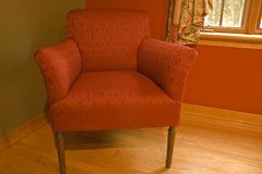The red armchair Royalty Free Stock Photos