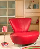 Red armchair Royalty Free Stock Image