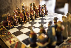 Red Army Chess Royalty Free Stock Photography