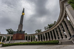 Red Army Memorial in Vienna Royalty Free Stock Images