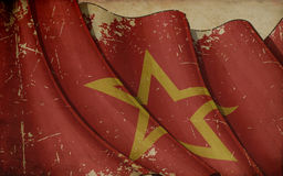 Red Army Old Paper Background Stock Photography