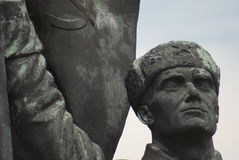 Red Army Soldier - Memento Park - Budapest Stock Image