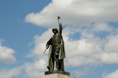 Red Army Soldier Statue - Brno - Czech Republic Royalty Free Stock Photo