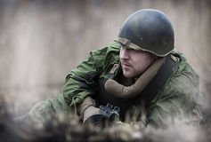 Red Army soldier Stock Photos