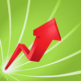 Red arrow Royalty Free Stock Images