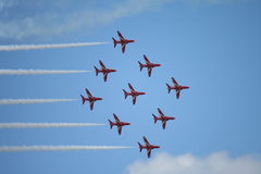 Red Arrow Display 2 Stock Photography