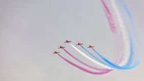 The Red Arrow Display Stock Images
