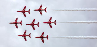The Red Arrow Display Royalty Free Stock Image