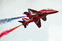 Red Arrow display team Stock Image