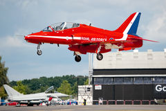 Red Arrow landing Royalty Free Stock Photography