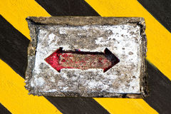 Red arrow sign Royalty Free Stock Photo