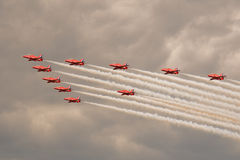 The Red Arrows Stock Image