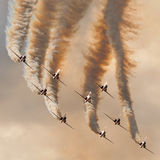 The Red Arrows Stock Images