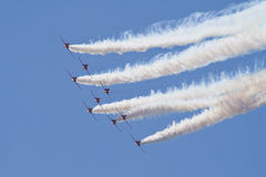 The red arrows Royalty Free Stock Image