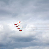 Red arrows Royalty Free Stock Image