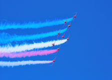 Red Arrows 2011 Display Team Royalty Free Stock Image