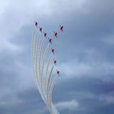 The Red Arrows Royalty Free Stock Images