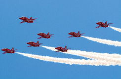 Red Arrows Stock Photos