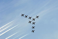 Red arrows 5 Royalty Free Stock Images