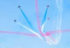 Red Arrows Stock Images