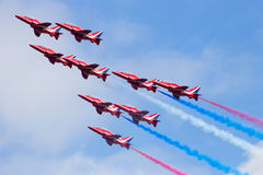 Red Arrows airshow Stock Photo