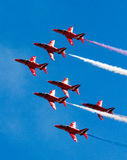 Red Arrows Display Team Stock Photos