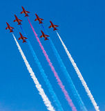 Red Arrows Display Team Stock Image