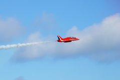 The Red Arrows, Eastbourne Stock Photo