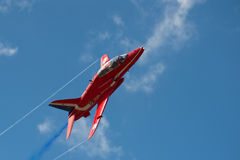 Red Arrows Jet Royalty Free Stock Photos