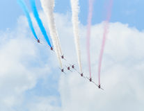 The Red Arrows Stock Photos