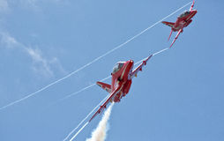 Red Arrows Royalty Free Stock Photography