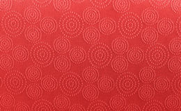 Red art pattern linen fabric texture for background Royalty Free Stock Photos
