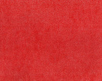 Red artificial leather texture. Stock Image