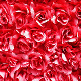 Red Artificial Rose Royalty Free Stock Photos