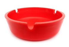 Red ashtray Royalty Free Stock Photos