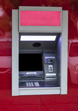 Red ATM Stock Photo