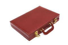 Red attache case Royalty Free Stock Image