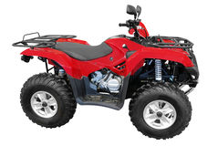 Red atv Royalty Free Stock Image
