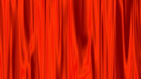 Red aura of light that shines through animation. stock footage