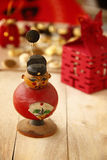 The Red Auspicious Chinese Doll. Of Chinese New Year Stock Photos