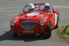 Red Austin Healey Royalty Free Stock Photo
