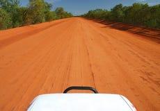 Red Australian Road Royalty Free Stock Photos