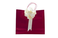 Red back gift Royalty Free Stock Images