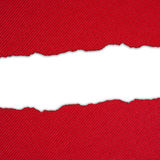 Red backgound with white stripe Stock Images