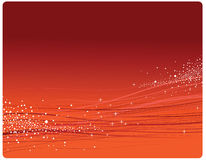 Red  background. Abstract red dynamic background with gradient Royalty Free Stock Photos