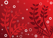 The red background Stock Photography