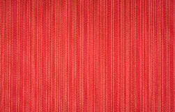 Red background. Red textile wallpaper. striped pattern background Stock Image