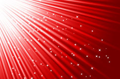Red background. Festive red background wiht stars. Vector illustration Royalty Free Stock Photography