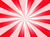 Red background. A red background with starburst and light royalty free illustration