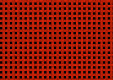 Red background. Abstract background, interwoven into the grid red stripes Stock Illustration